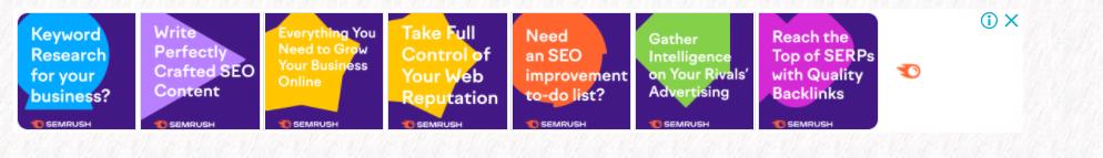 SEMrush ppc example