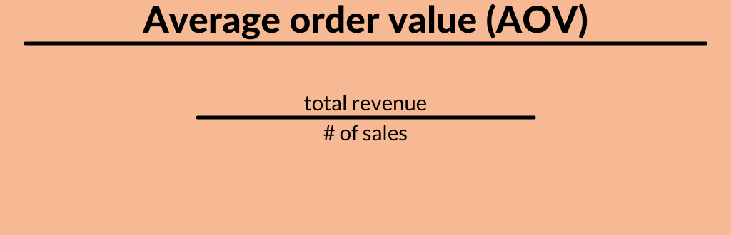 average order value formula
