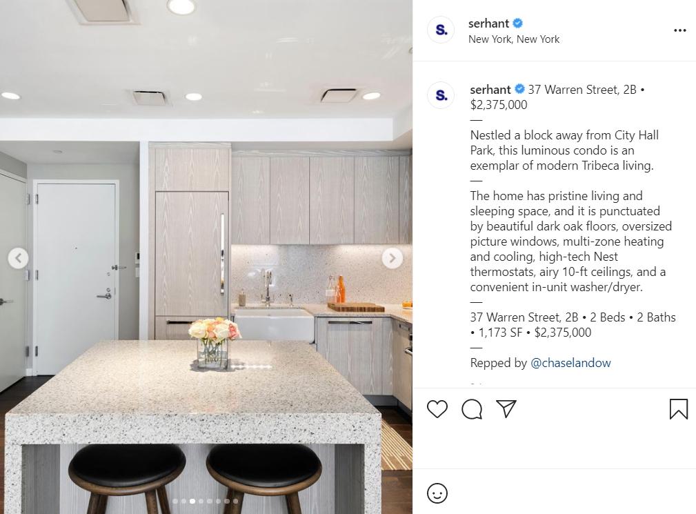 SERHANT property listings
